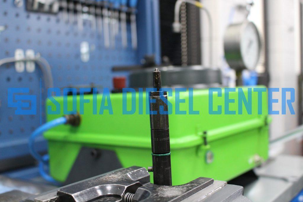 снимка на регулиране на механични дюзи
