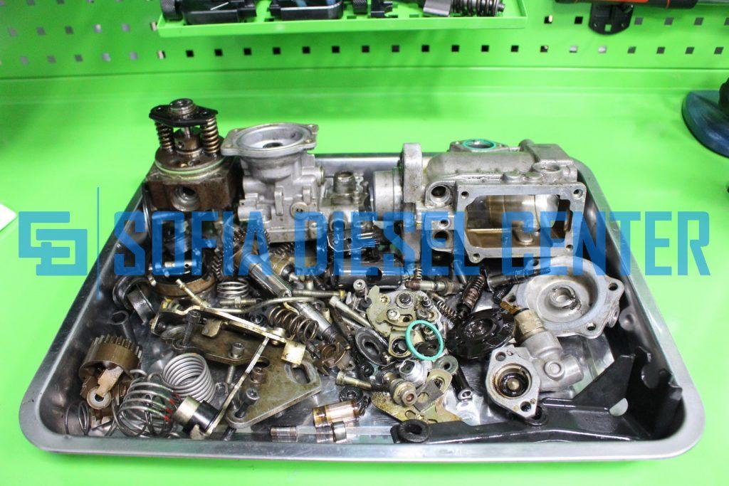 снимка на ремонт на механични помпи