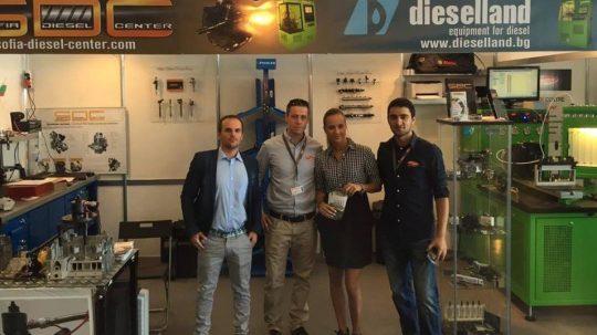 """Представяне на най-новите дизелови изпитателни стендове марка """"DIESELLAND"""""""