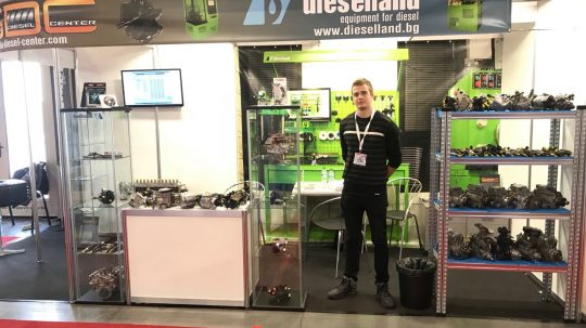 снимка AUTOMOTIVE EXPO SOFIA 2018 - Рециклиране на пиезокристални инжектори и CP4 комън рейл помпи