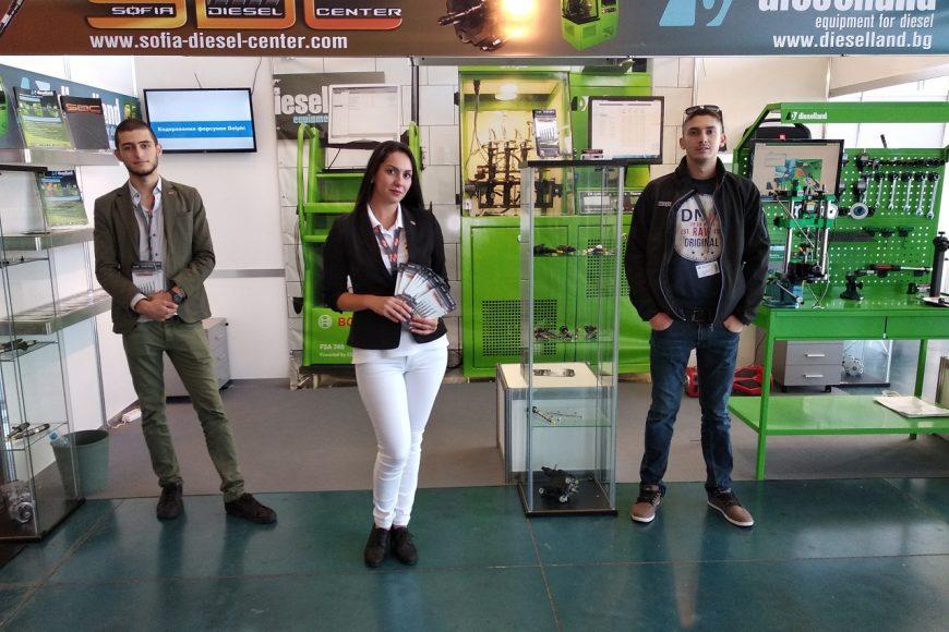 ТЕХНИЧЕСКИ ПАНАИР ПЛОВДИВ 2018 – Представяне на иновации в ремонта на дизелови помпи и дюзи.